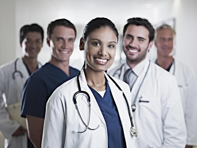 A team of CAMC doctors and nurses