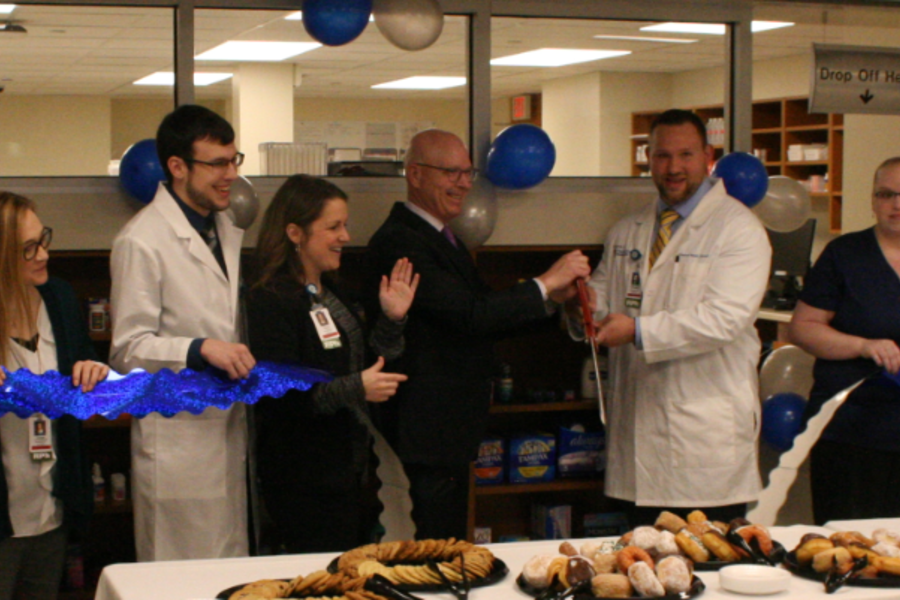 The opening of CAMC's third retail pharmacy