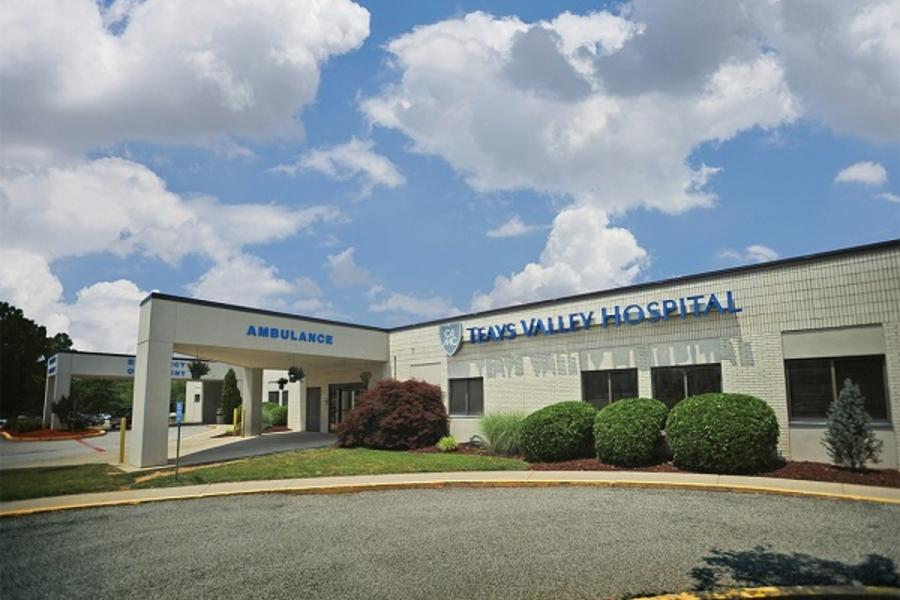 Exterior of CAMC Teays Valley Hospital