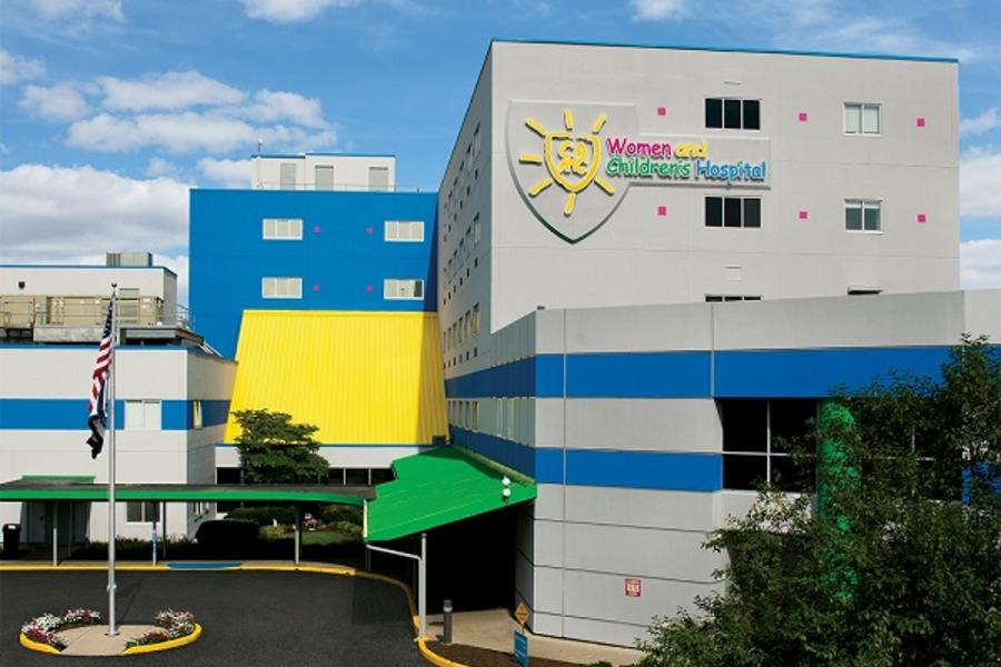 Exterior of CAMC Women and Children's Hospital