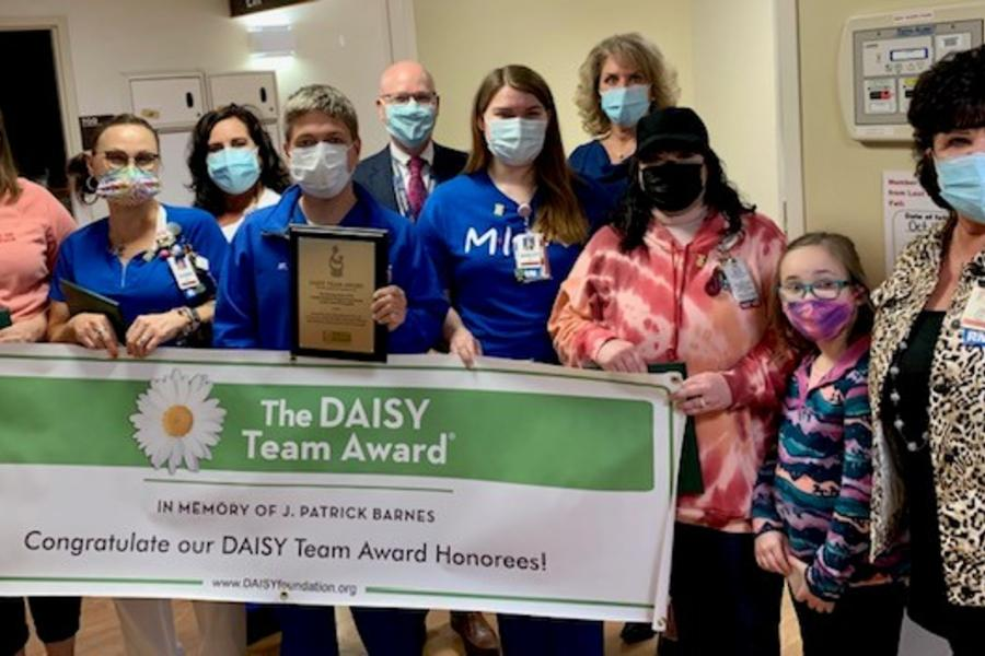 Photo of Daisy TEAM Awardees - 7 South
