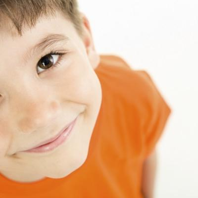 Image of young boy smiling